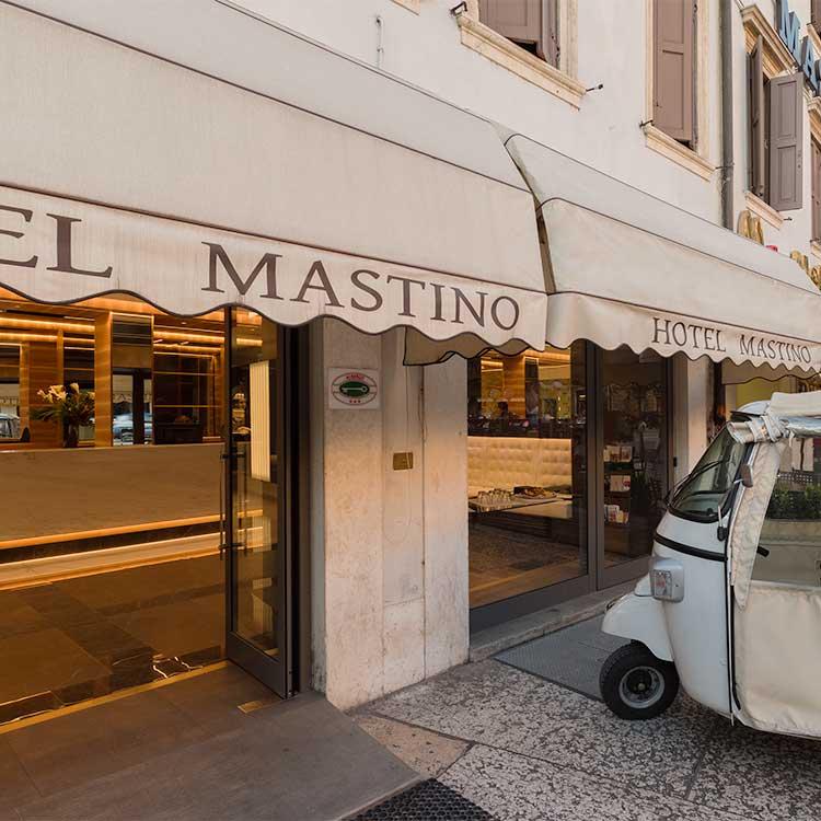Resultado de imagem para Verona - Hotel Mastino
